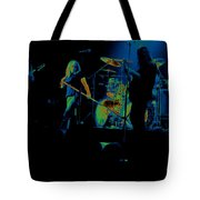 Skynyrd Sf 1975 #10 Crop 2 Enhanced In Cosmicolors Tote Bag