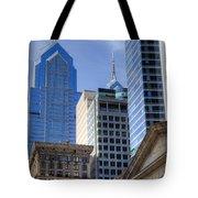 Skyscraper City Center  Liberty Place Tote Bag