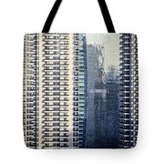 Skyscraper Windows Tote Bag