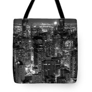 Skyscrapers Of Chicago Tote Bag