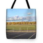 Skyview Portland Airport Oregon. Tote Bag