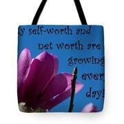 Skyward Affirmation Tote Bag