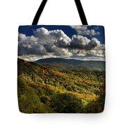Skyway Clouds Tote Bag