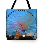 Skywheel Tote Bag