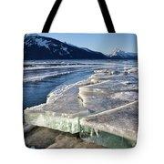 Slabs Of Ice Tote Bag