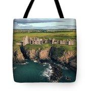 Slains Castle Tote Bag