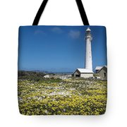Slangkop Lighthouse, Kommetjie  Tote Bag