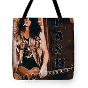 Slash, Guns'n'roses Tote Bag
