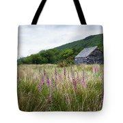 Slate Cabin In Wales Tote Bag