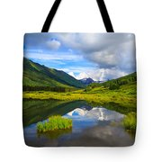 Slate River At Crested Butte Colorado Tote Bag
