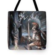 Slay The Gorgon Tote Bag