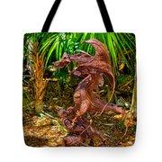 Slaying Dragons Tote Bag