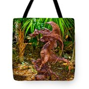 Slaying Dragons Tote Bag