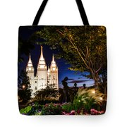 Slc Mother And Children Tote Bag by La Rae  Roberts