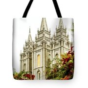 Slc Temple Angle Tote Bag by La Rae  Roberts