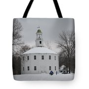 Sledding Tote Bag