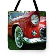 Sleek Red Tote Bag
