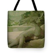 Sleep Behind The River Tote Bag