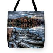 Sleep Canoes Warrenton Va 2012 Tote Bag