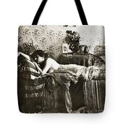 Sleeping Beauty, C1900 Tote Bag