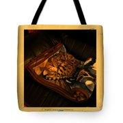 Sleeping Cat Digital Painting Tote Bag