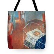 Sleeping Child Tote Bag by Kuzma Sergeevich Petrov Vodkin