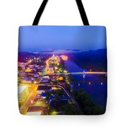 Sleeping City Tote Bag