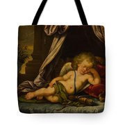Sleeping Cupid Tote Bag
