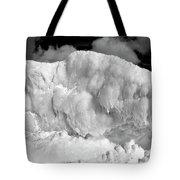 Sleeping Ice Giant Tote Bag