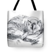 Sleeping Jago Tote Bag