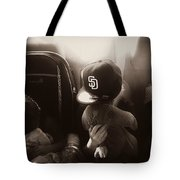 Sleeping Kids Tote Bag
