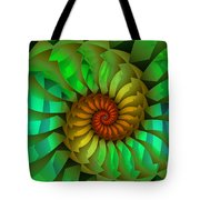 Sleeping Spring Tote Bag