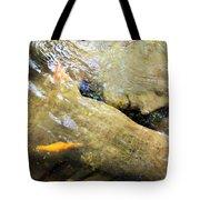 Sleeping Under The Water Tote Bag