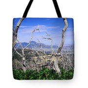Sleeping Ute Mountain - From Mesa Verde National Park Tote Bag