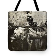 Sleeping Woman, C1900 Tote Bag