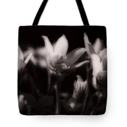 Sleepy Flowers Tote Bag