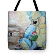 Sleepy Gnome Tote Bag