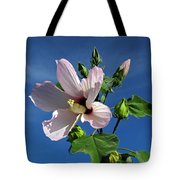 Sleepy Hibiscus Tote Bag