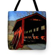 Sleepy Hollow Bridge Tote Bag