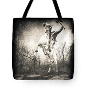 Sleepy Hollow Headless Horseman Tote Bag