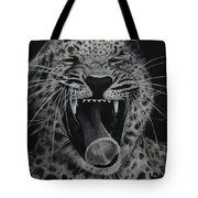 Sleepy Leopard Tote Bag
