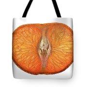 Slice Of A Mandarin Orange Tote Bag