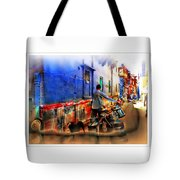 Slice Of Life Milkman Blue City Houses India Rajasthan 1a Tote Bag