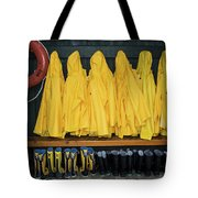 Slickers Tote Bag