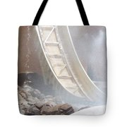Slide Splash Tote Bag