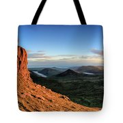 Slieve Bearnagh Rusty Golden Sunset Tote Bag