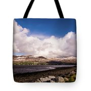 Slieve Mish Mountain In Snow Tote Bag