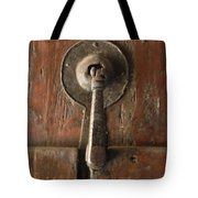 Slim Door Knocker Tote Bag