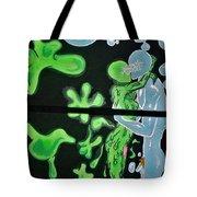Slime Bubble Couple Tote Bag