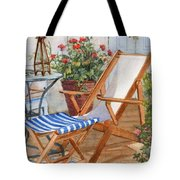 Sling Back Chair Tote Bag